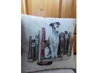 Povlak na polštář psík v knihách