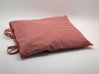 Potah na sedák 40 x 40 cm Piko 04 červená