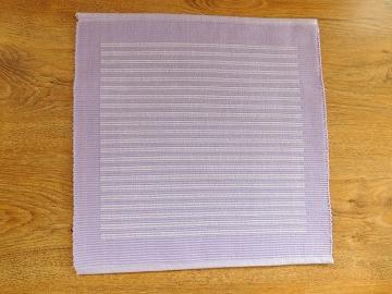 Prostírka fialová s bílým proužkem