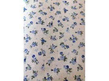 Růžička režná modrá 2cm