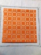Kanafas - pačvork malý oranžový