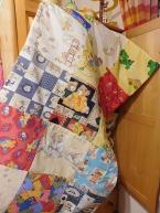 Dětská deka ruční pačvork