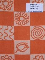 Sára 5596 oranžová 02