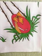 Ubrus Vejce červená veliká