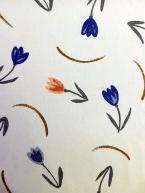 Tulipány na béžové