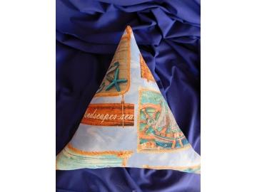 Povlak Trojúhelník - mořské motivy