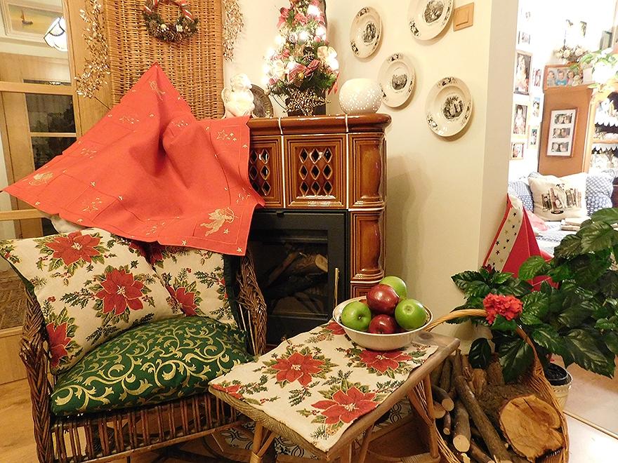 Vánoční bytový textil 1