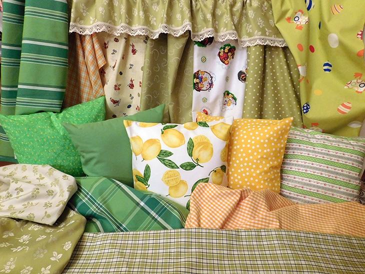 Jarní a velikonoční bytový textil 1