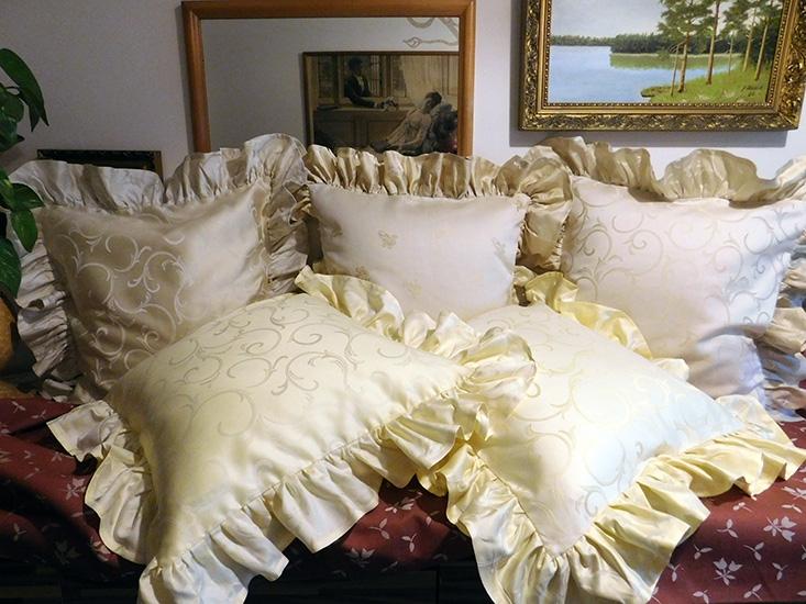Povlaky do ložnice s kanýry