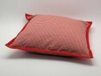Polštářek 40 x 40 cm Piko 04 červená