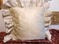 Povlak s kanýrem Ornament béžový tmavý