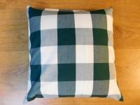 Povlak na polštář velká zelená kostka